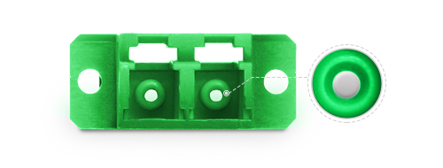 Fiber Optic Adapters High-precision Ceramic Sleeve