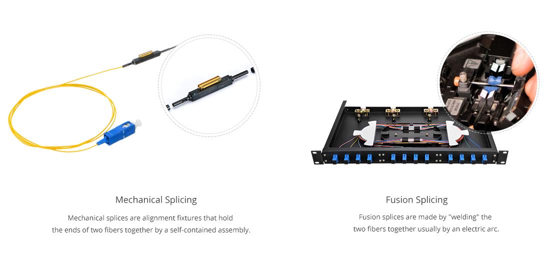 Standard 900um Buffered Fiber  Two Important Methods for Fiber Optic Pigtail Splicing