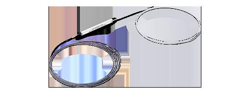 PLC Splitter Desnudo Estructura compacta