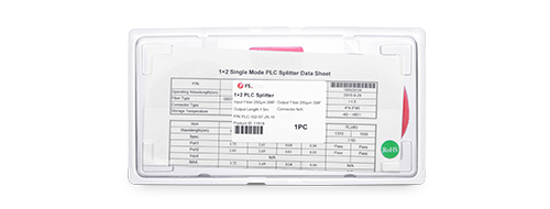 Bare PLC Splitter  Exquisite Packaging