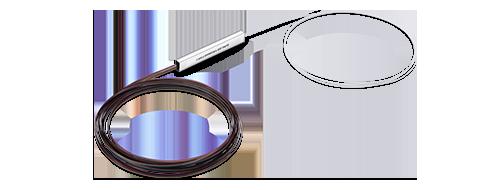 Bare PLC Splitter Compact Structure