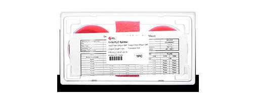 Divisor Splitter Óptico PLC Personalizado  Embalaje exquisito