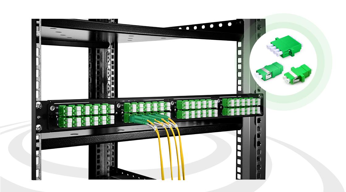 Оптические адаптеры/соединители Adapters Bridge the Gap Between Fiber Optic Connectors