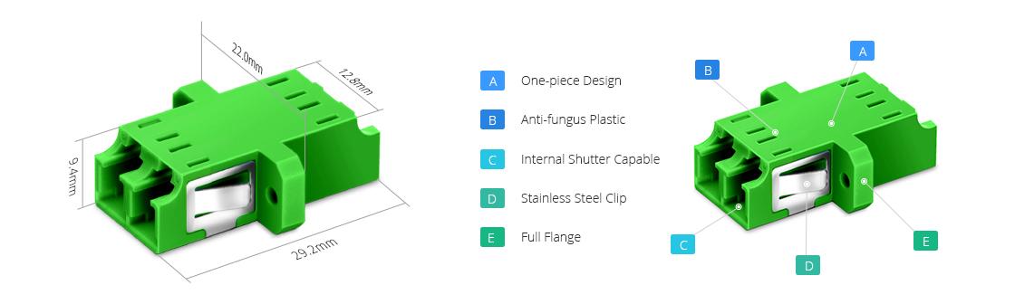 Оптические адаптеры/соединители Fiber Optical Adapter