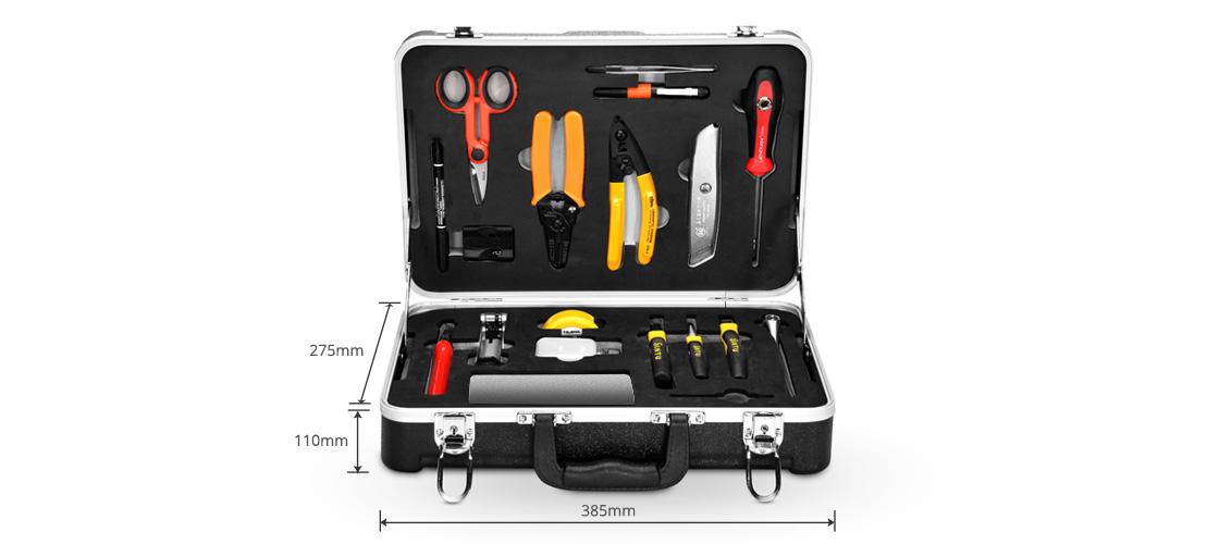 Kits de herramientas  Kits de herramientas de construcción de fibra óptica