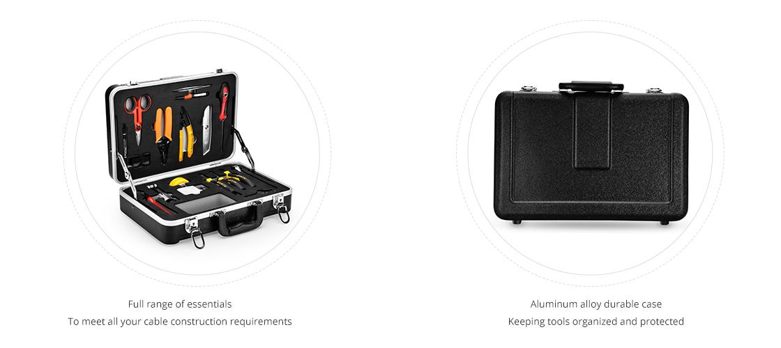 Kits d'Outillage à Fibre Optique