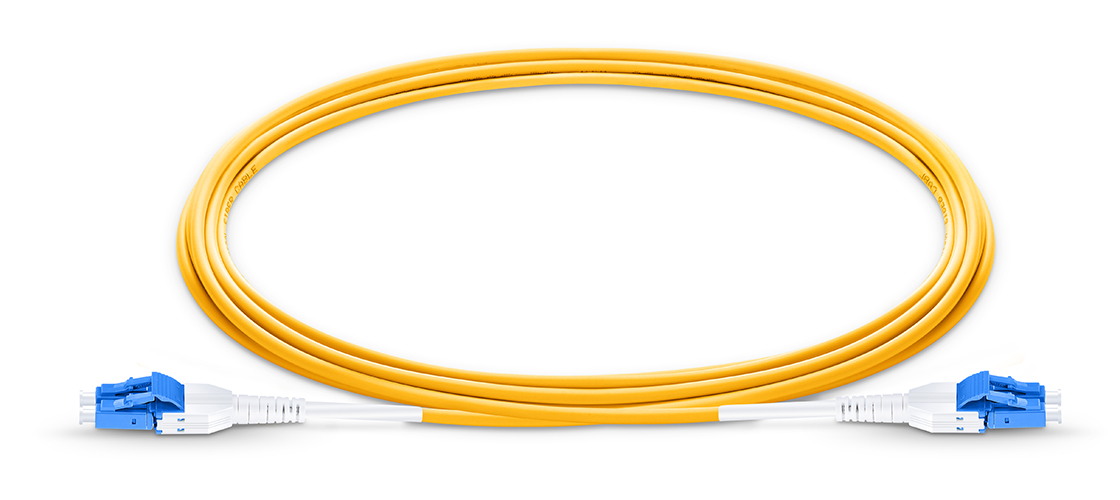 Uniboot LC Cables   LC-LC Uniboot Duplex Connector with 3.0mm Cable Diameter