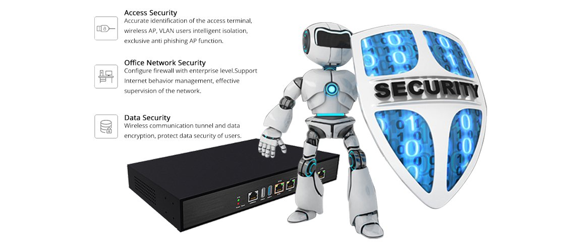 Wireless Access Point  Safety Protection Wall