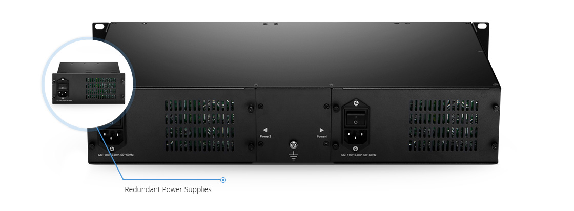 FMT Chassis & Accessories  Flexible Power Supply Tailored for FMT 1U/2U/4U Managed Chassis