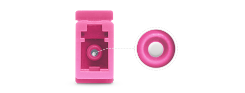 LWL-Adapter/Kupplung Hochpräzisions-Keramikhülse