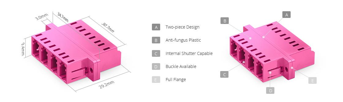 LWL-Adapter/Kupplung LWL-Adapter