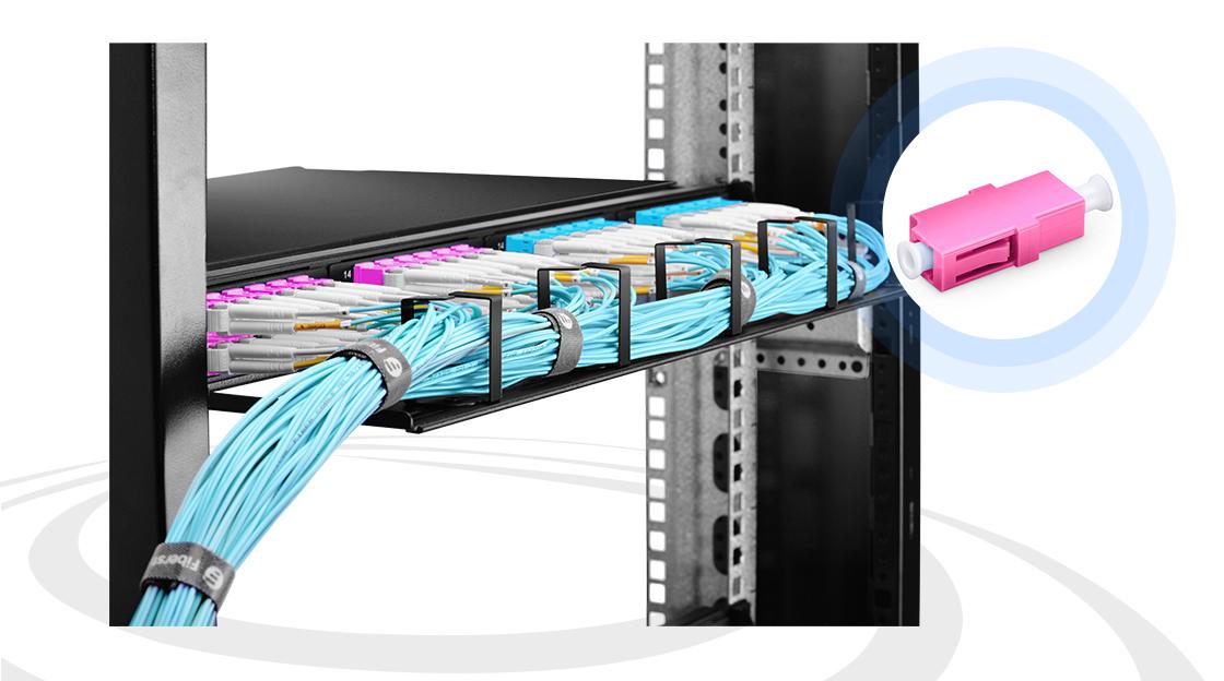 LWL-Adapter/Kupplung Adapter überbrücken den Abstand zwischen LWL-Stecker