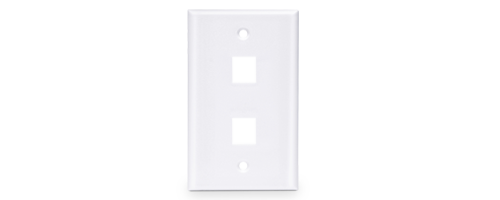 Network Wall Plates Elegant White