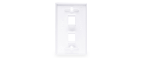 Keystone Wall Plates  User-friendly Angle