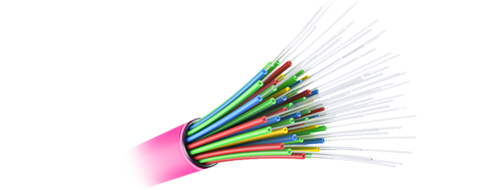 MTP®/MPO-LC Breakout Cables  Corning ClearCurve Multimode Fiber