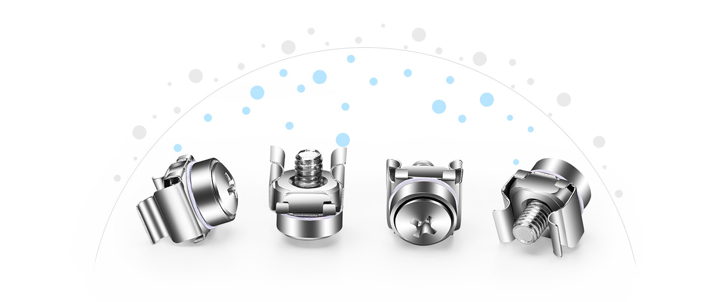 Shelves & Accessories  A Comprehensive View of M5 Screw and Nut