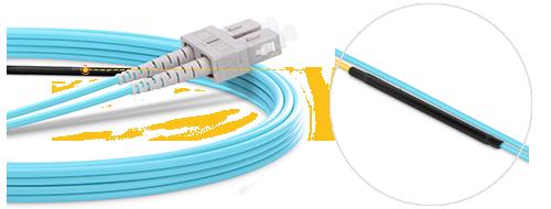 モード調整可能なケーブル 中心線オフセットスプライス
