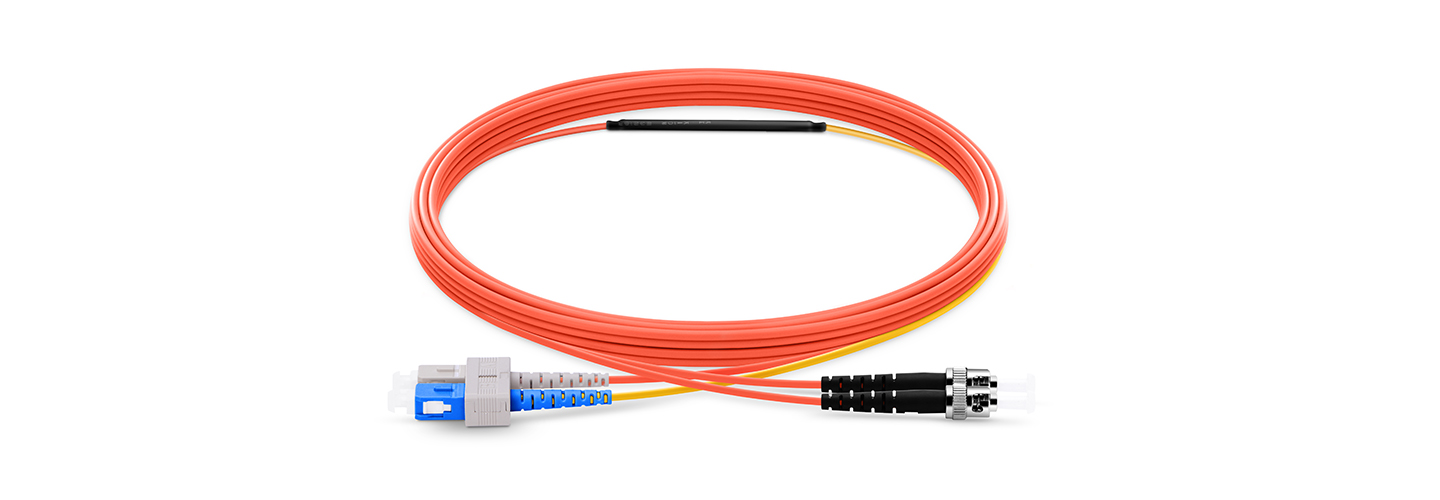 Mode Conditioning Cables  SC Equip to ST OM1 Mode Conditioning Fiber Optic Patch Cable