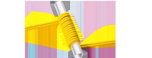 MTP Conversion Cables  10mm Minimum Bend Radius