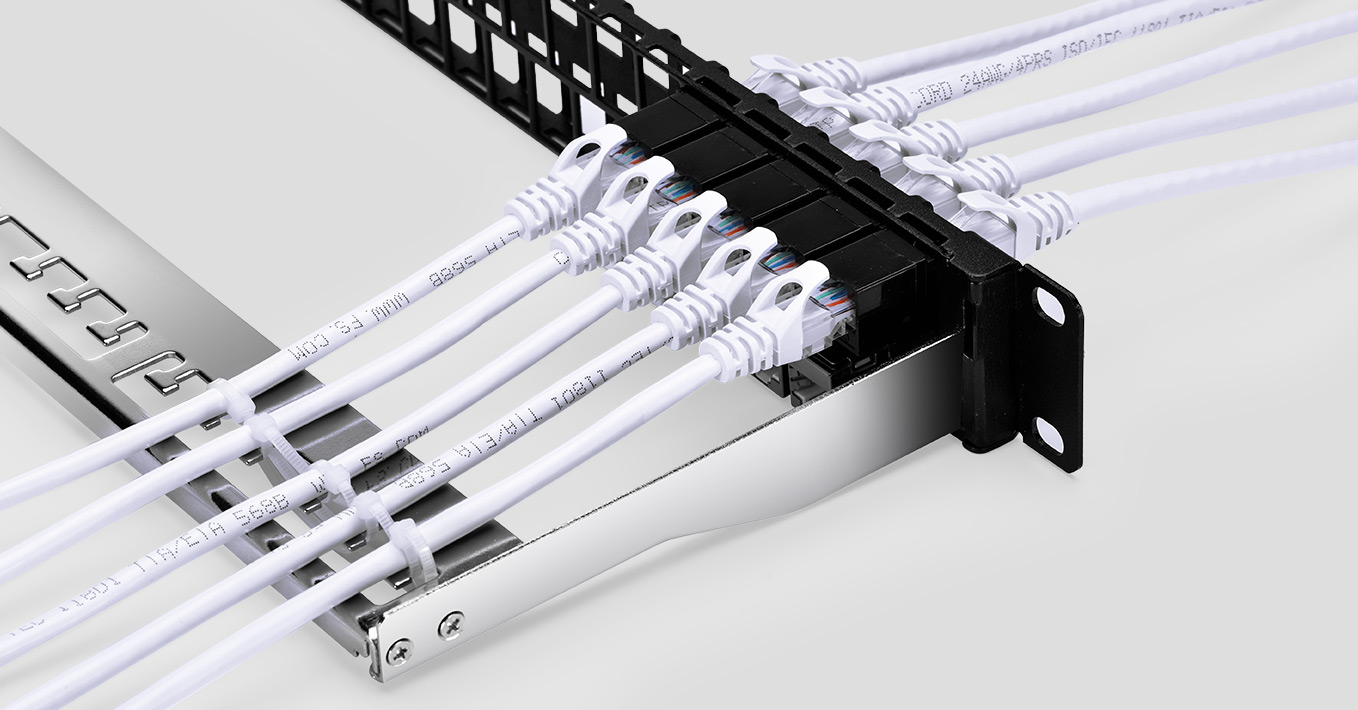 Blank Patch Panels  48 Blank Ports Compatible with All Keystone Jacks