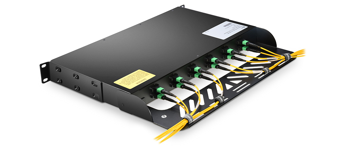 MTP/MPO-LC Patch Panels  Removable Cable Management Plate