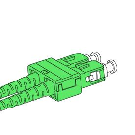 Bend Insensitive Патч-корды Циркониевый керамический наконечник