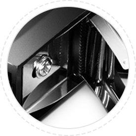 Rack/Cabinet Shelves Electrostatic discharge screw