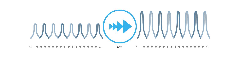 Customized OTN System  Multi-Channels DWDM EDFA Optical Amplifier