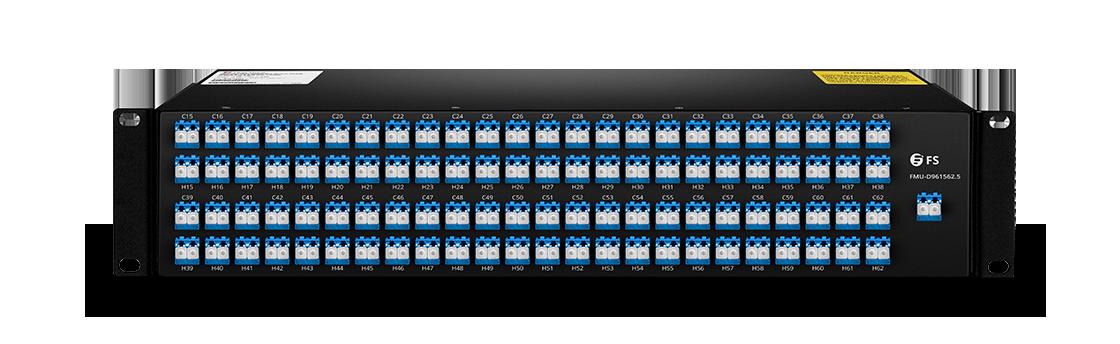 DWDM Mux Demux   MUX/DEMUX 96 Channels over Dual Fiber