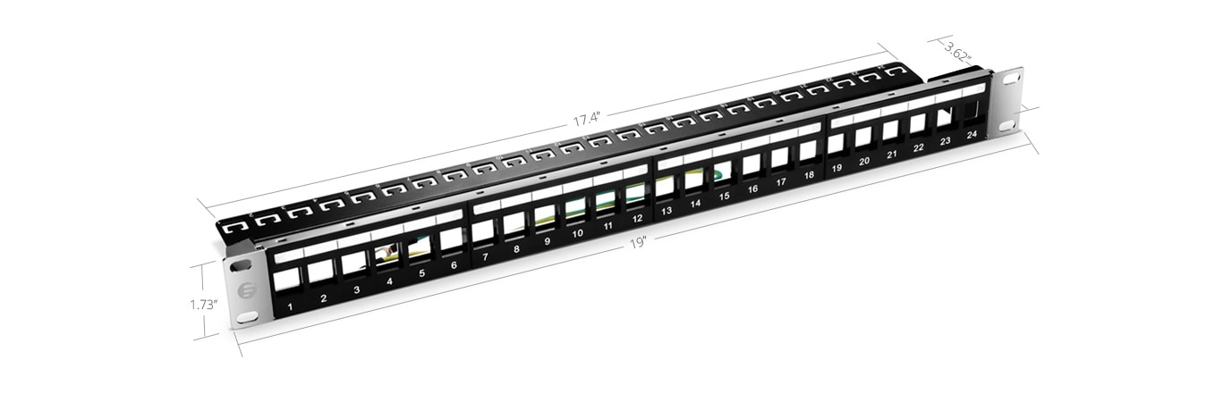 Blank Patch Panels  Quick, Easy Installation