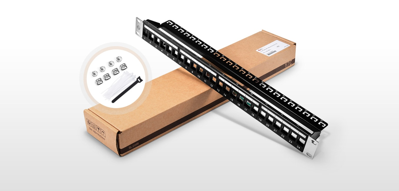 Blank Patch Panels  Packing & Labeling