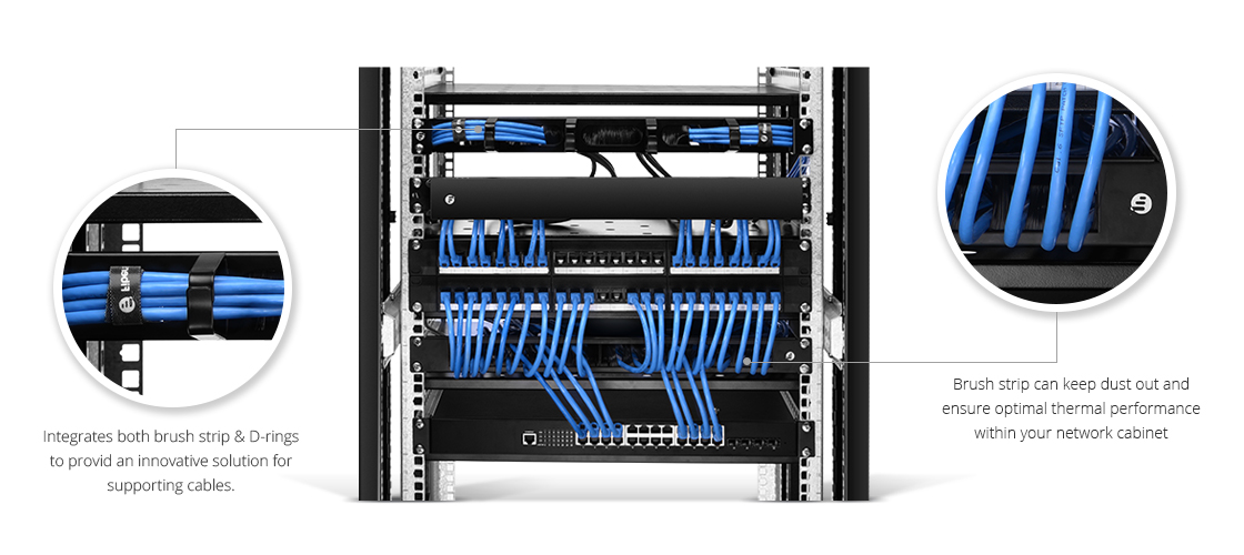 Horizontal Cable Manager An innovative solution for Cable Management