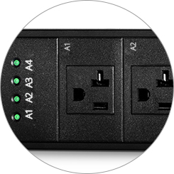PDU Power Strips Individual Outlet Control