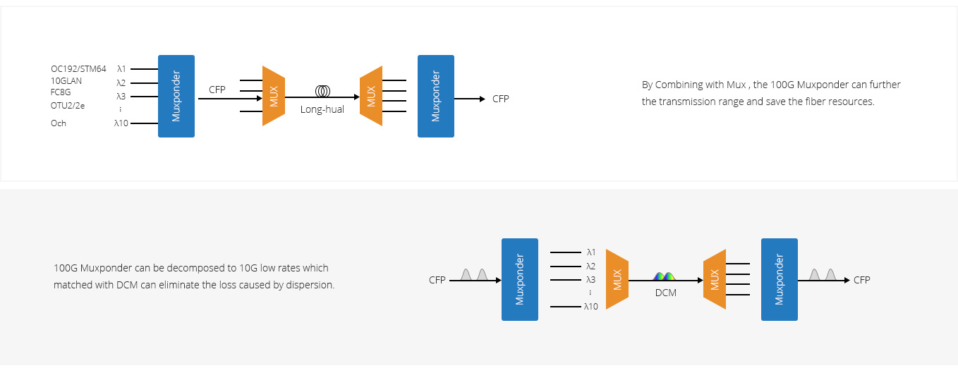 Customized OTN System  Multipal Configurations Tailored for Extensive Applications