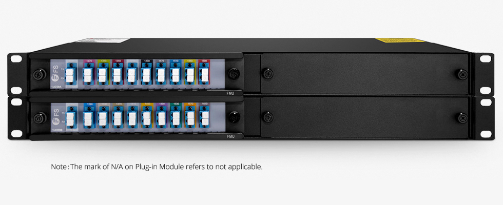 Customized Mux & Filter   Mux/Demux 9 Channels Single Fiber in a Pair
