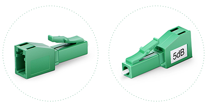 Optical Attenuators  2. Durable plastic shell for permanent protection