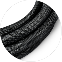 Cat6a Trunk Cables Braided Mesh Sleeve