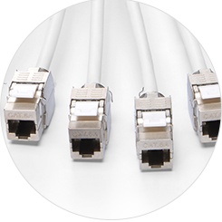 Cat6a Trunk Cables STP Jack Termination