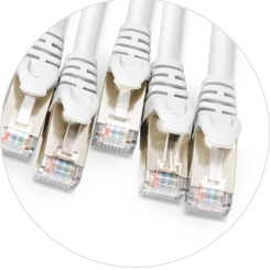 Cat6a Trunk Cables High-quality Snagless Plug