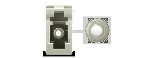 光ファイバアダプター/カプラー 高精度セラミックスリーブ