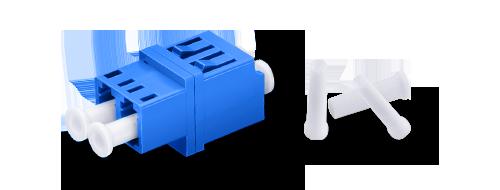 Оптические адаптеры/соединители Хорошая защита с пылезащитной крышкой