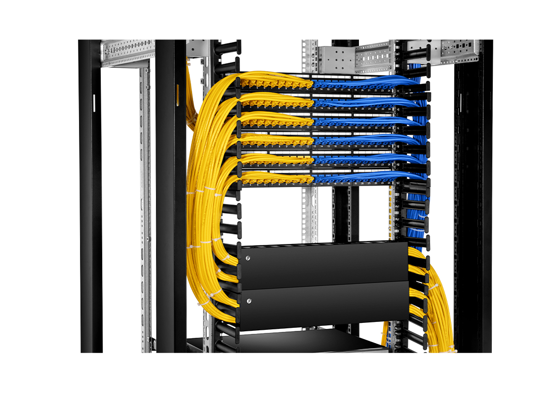 Cat5e Patch Panels High-Effective Data Center Wiring