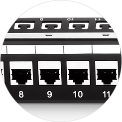 Cat6 Patch Panels Number Coding