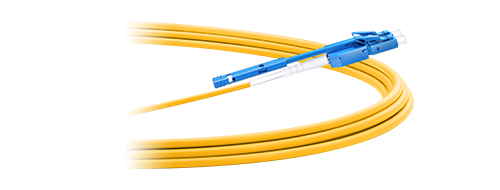 Ultra Low Loss LC Cables 1.  Two  Fibers Wrapped in a Single Jacket