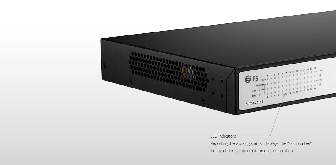 1G Switches  Port Indicators and System Status Indicators