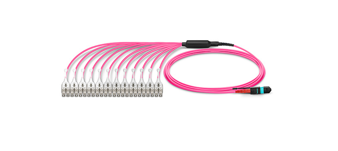 """Customised MTP Fibre Cables             """"All in One""""  MTP Harness Cable"""