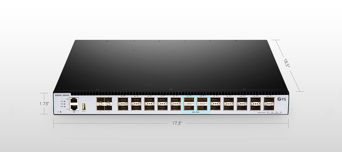 100G Switches  40GbE Spine/Aggregation Layer Switch