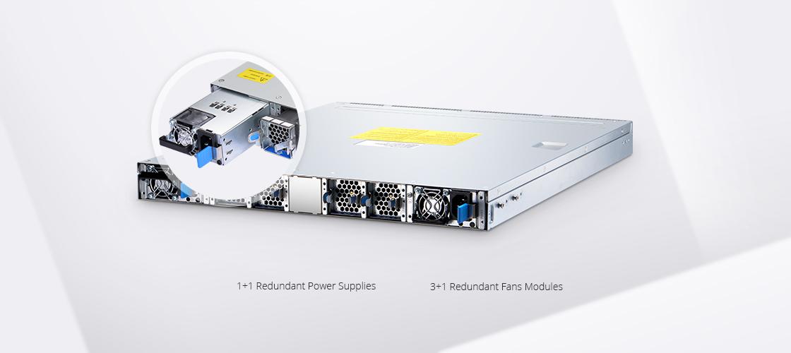 Switches 100G Diseño de hardware de grado de centro de datos