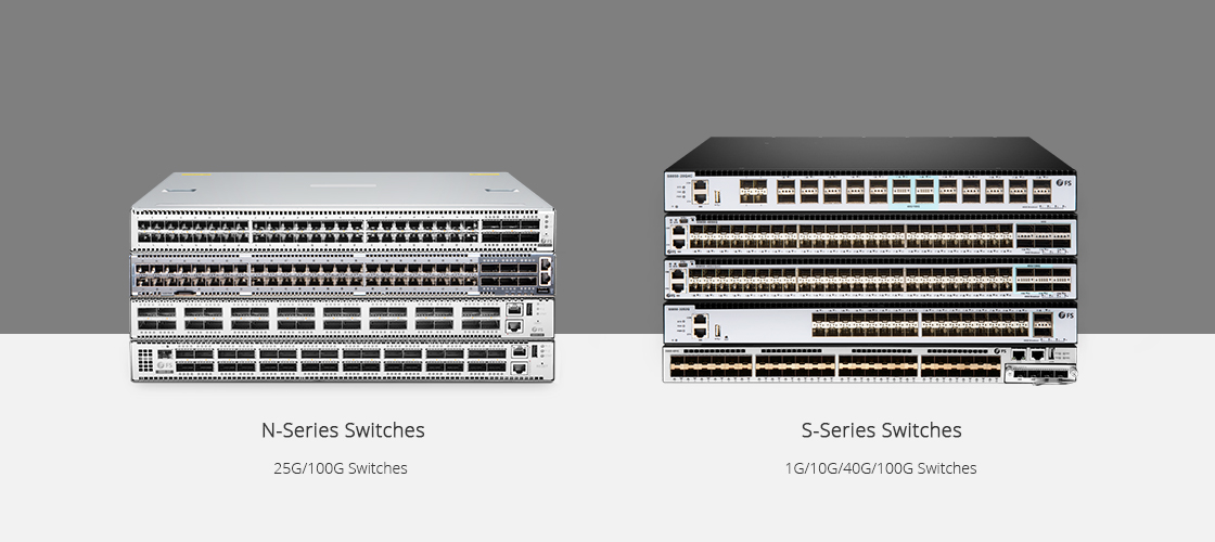 40G Switches  N-Series VS S-Series