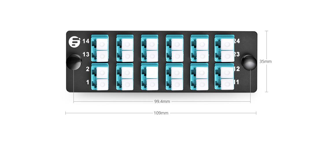 FHD Adapter Panels  High Density Assemble Mounting - FHD Fiber Adapter Panel